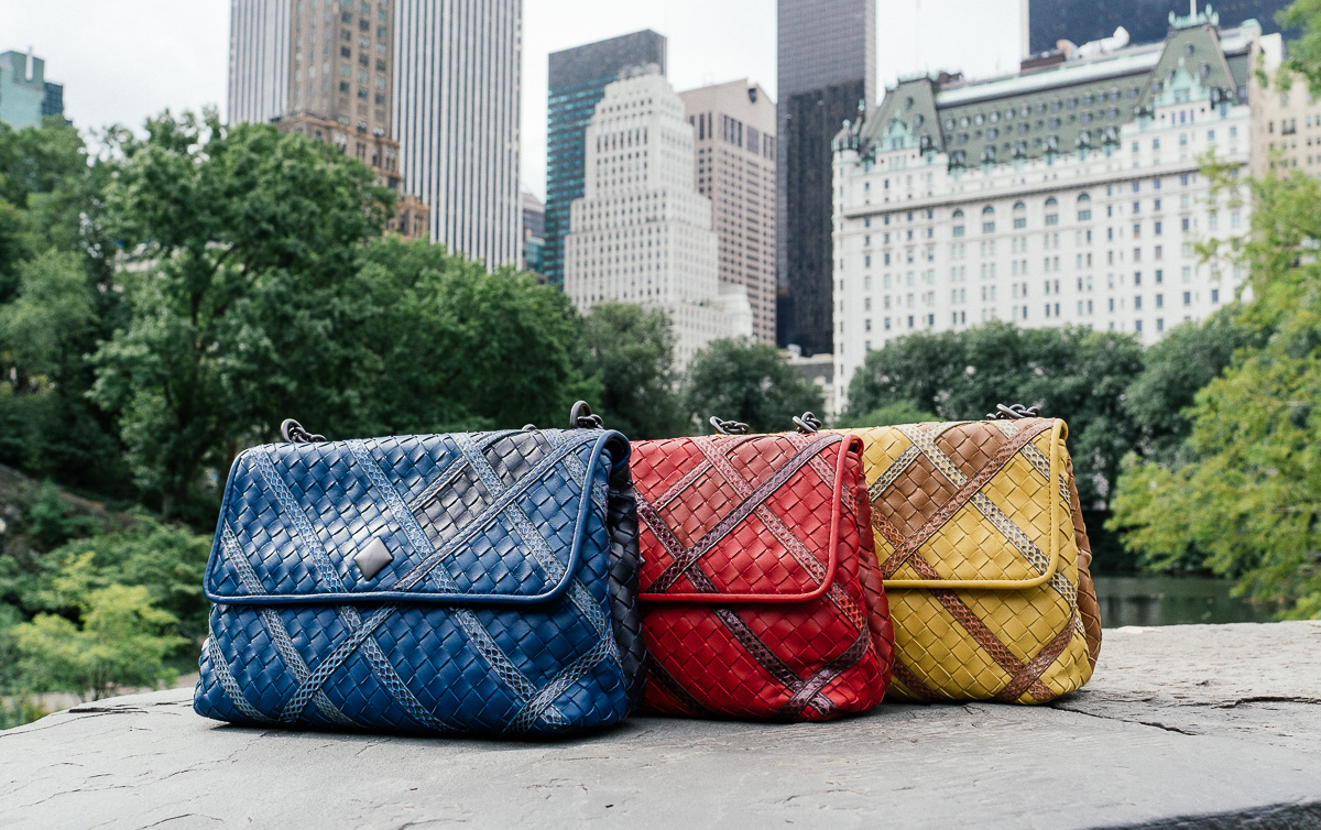 Bottega Veneta Olimpia Intrecciato Bags All Colors