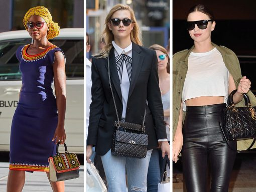 Beaded and Quilted Bags are Trending with Celebs This Week