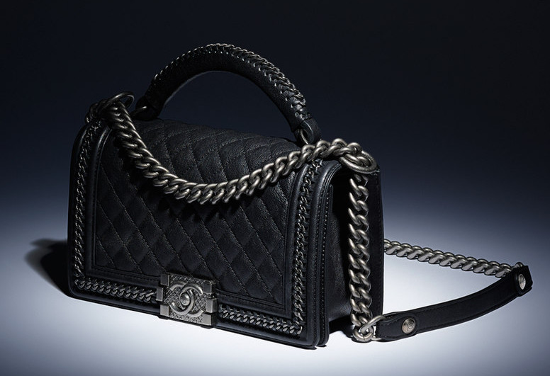 bcbcfa791619 A Look at the Chanel Boy Bag with Handle - PurseBlog