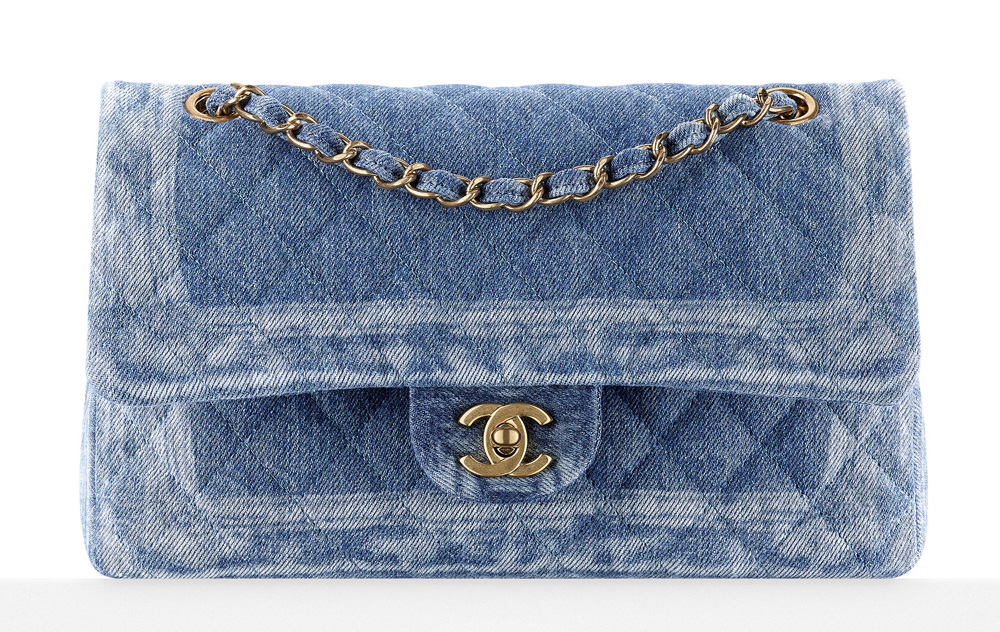 Chanel Denim Flap Bag