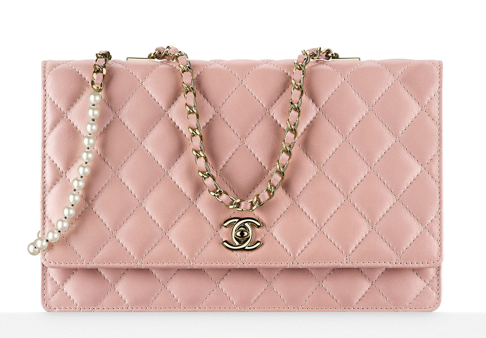Chanel Flap Bag Pink 3000