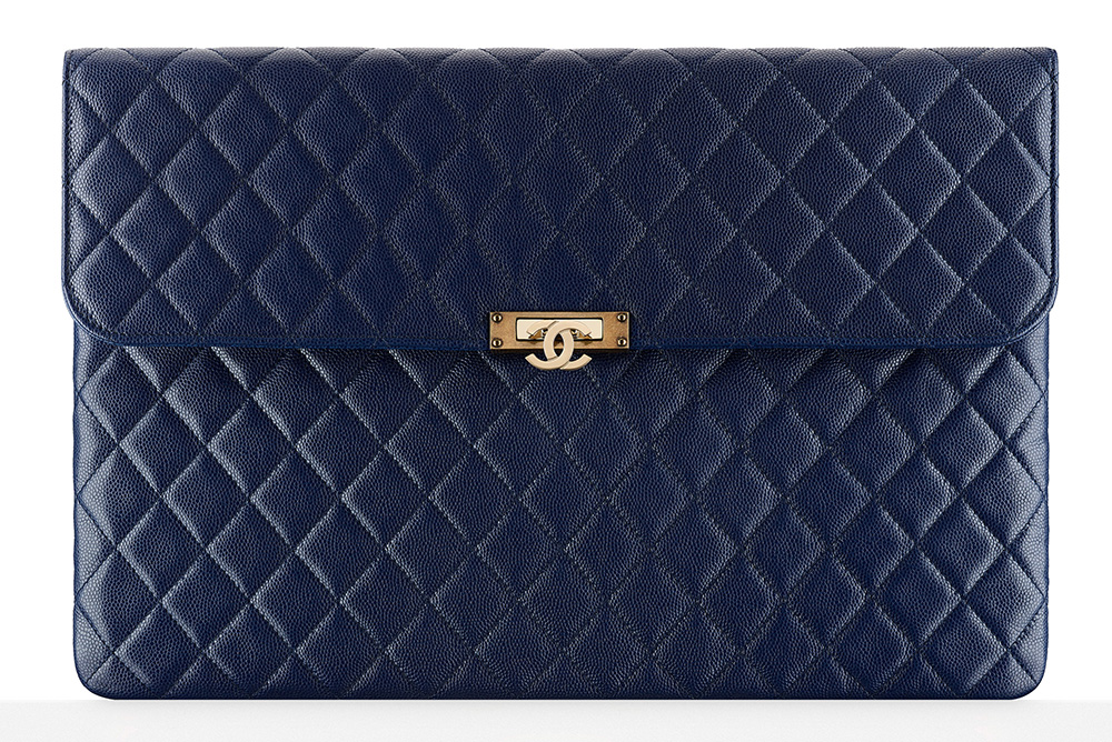 chanel-flap-pouch-blue