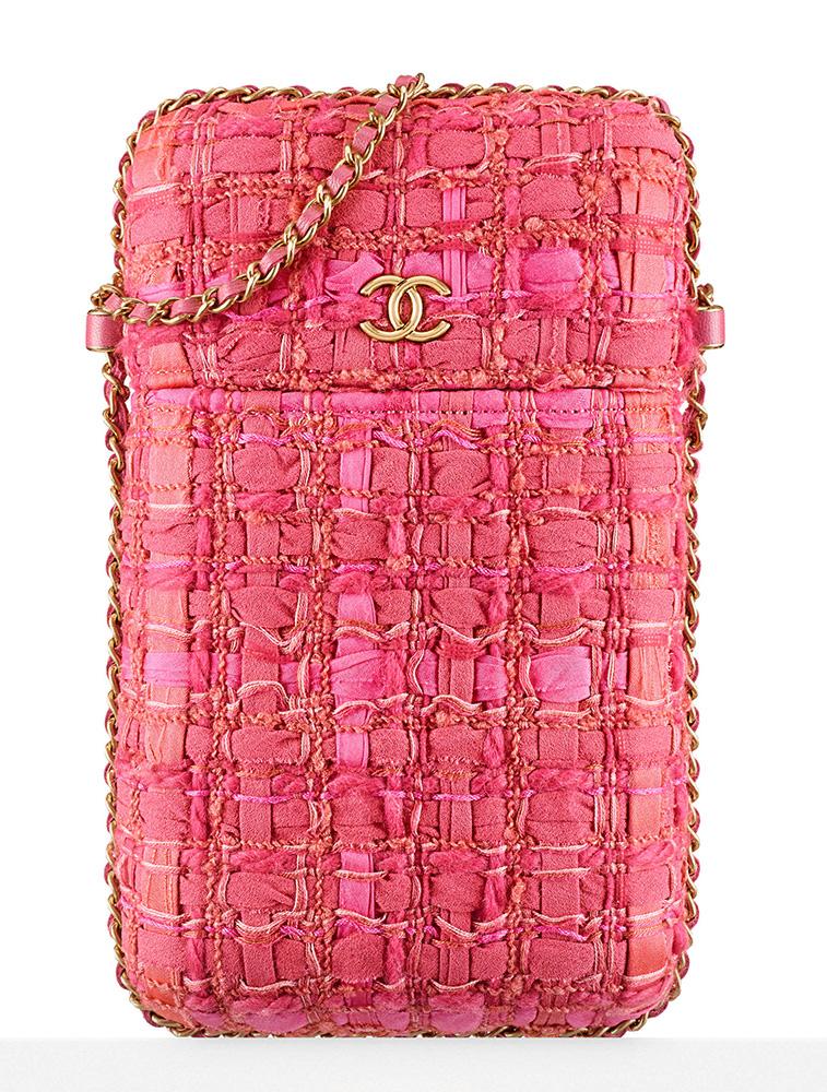 chanel-tweed-phone-holder-pink-2100