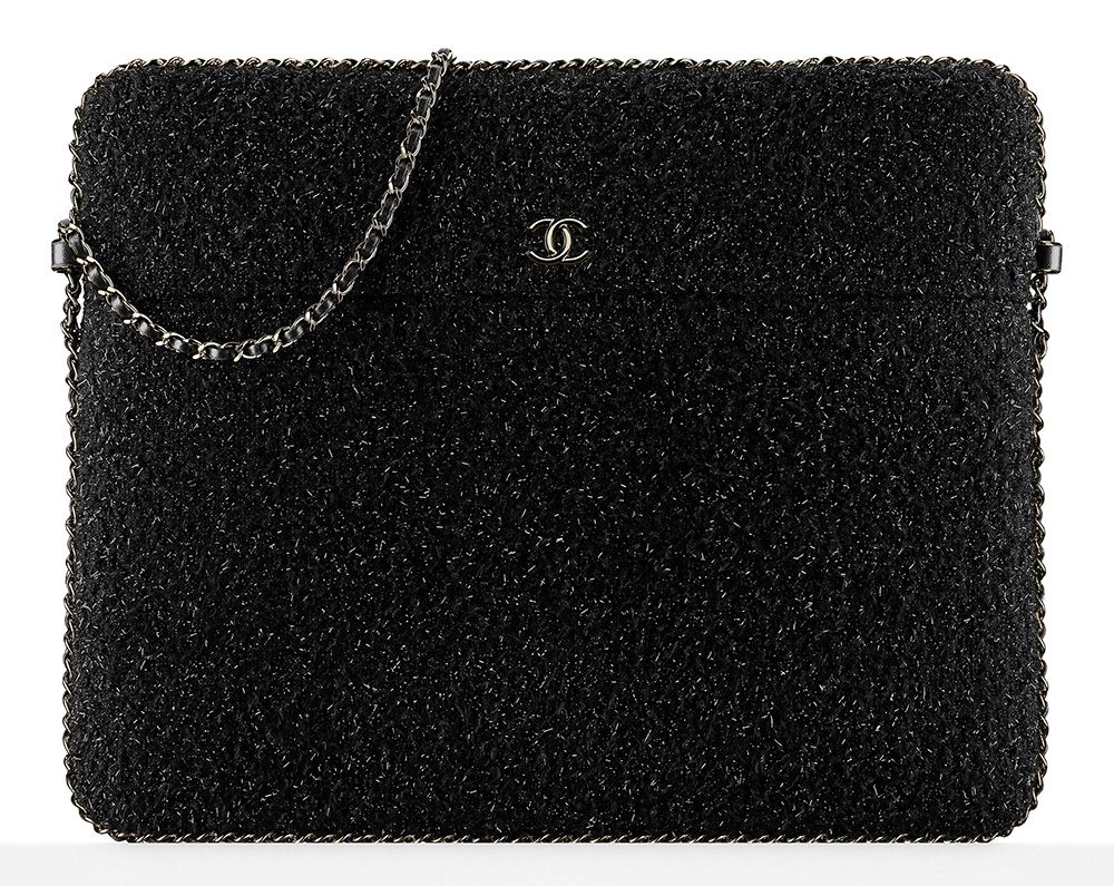 chanel-tweed-tablet-holder-black-2450