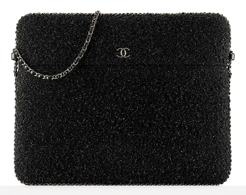 chanel-tweed-tablet-holder-black-2450