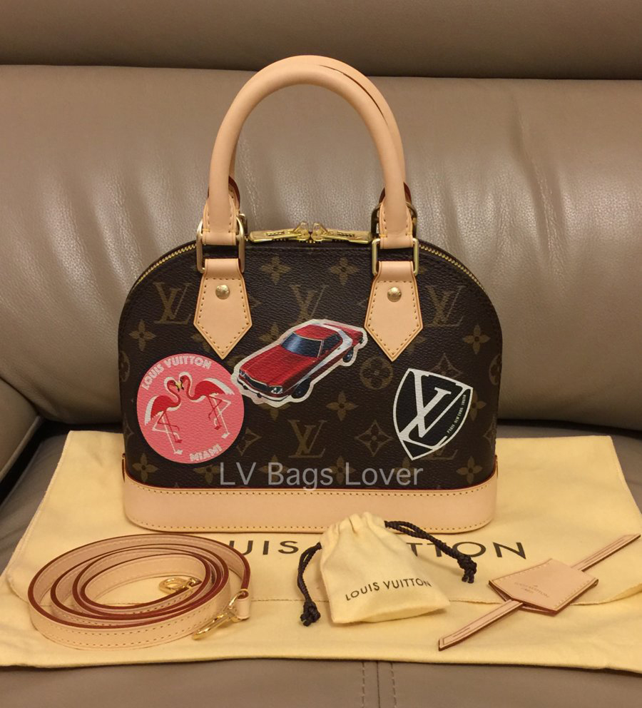 tPF Member: LV Bags Lover Bag: Louis Vuitton Alma BB World Tour Bag Shop: $1,470 via Louis Vuitton