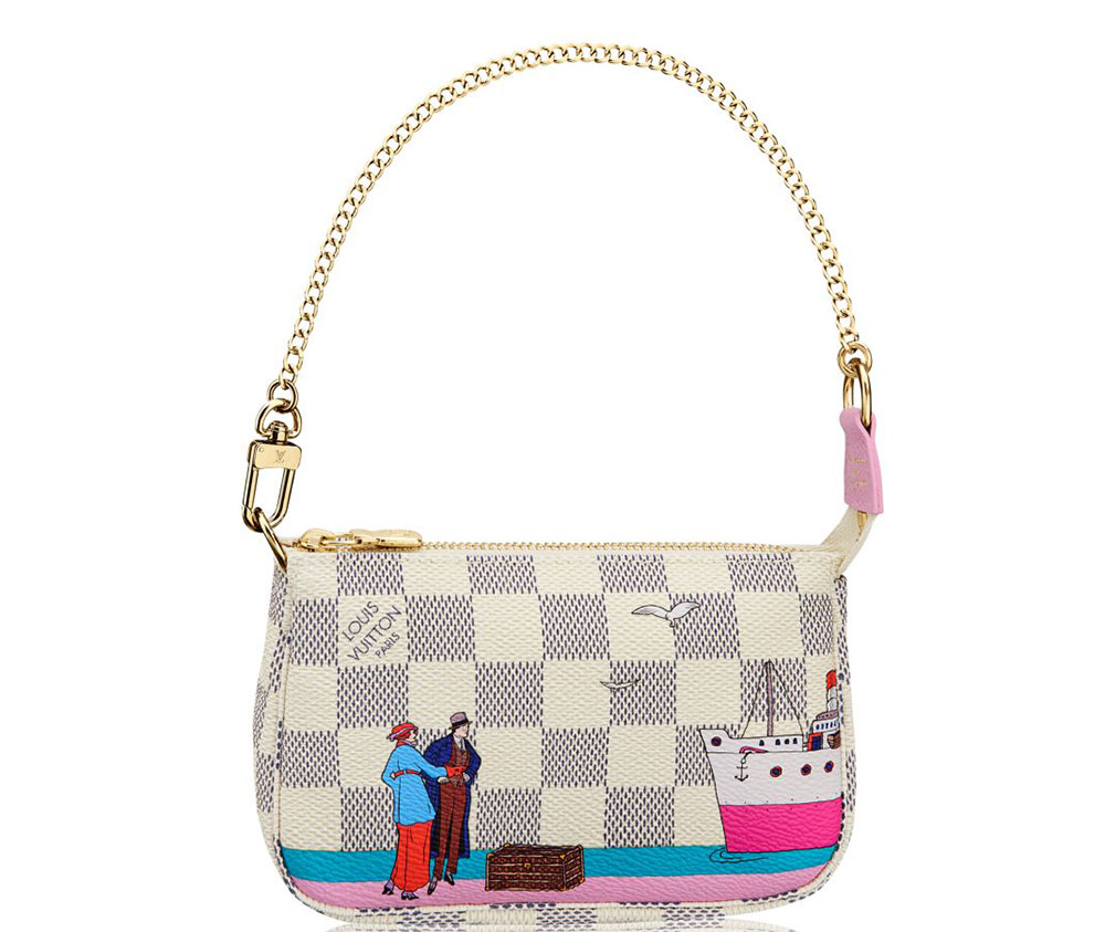 a look at louis vuitton u0026 39 s new christmas animation print for 2016