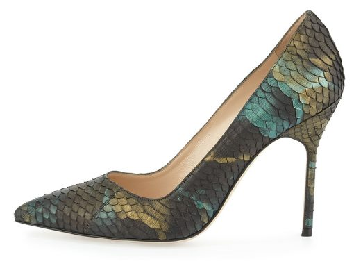 manolo-blahnik-bb-iridescent-watersnake-pump