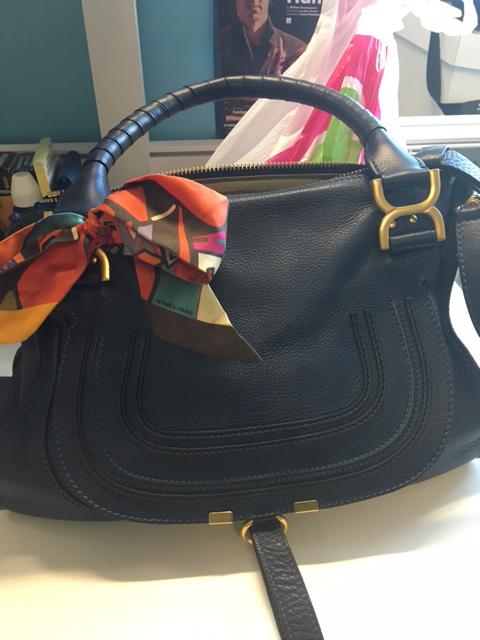 tPF Member: Miss Dennies  Bag: Chloé The Marcie Medium Tote  Shop: $2,315 via Net-a-Porter