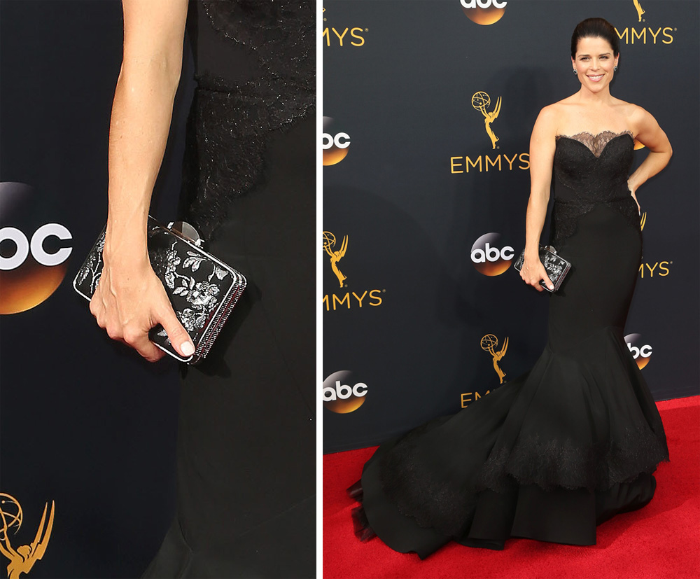 neve-campbell-floral-embroidered-clutch