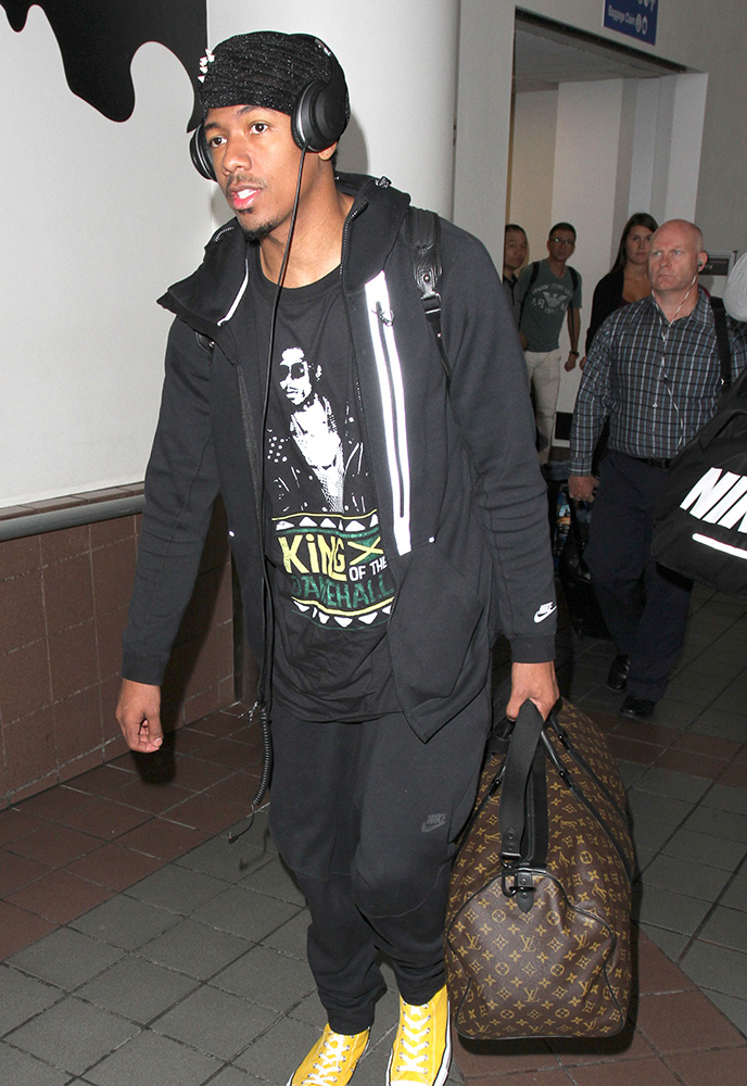 nick-cannon-louis-vuitton-keepall-bag