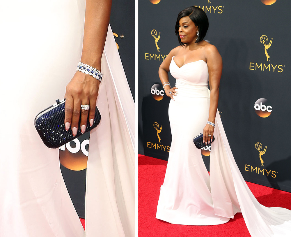 niecy-nash-judith-leiber-slide-lock-clutch