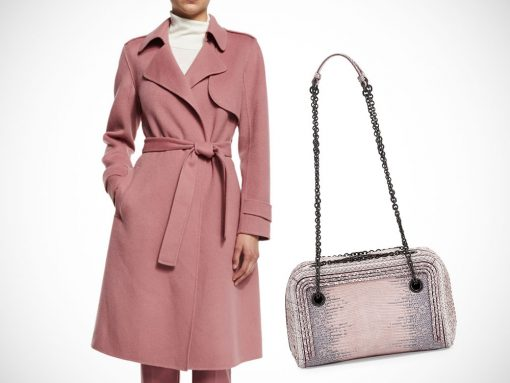 Perfect Pairs Theory Coat Bottega Veneta Bag