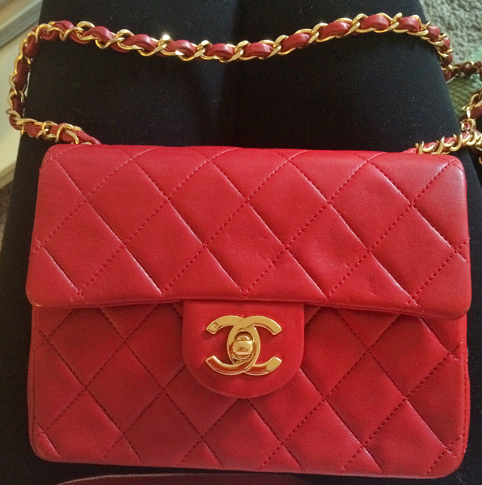 tPF Member: Ansvage  Bag: Chanel Vintage Square Mini Flap Bag