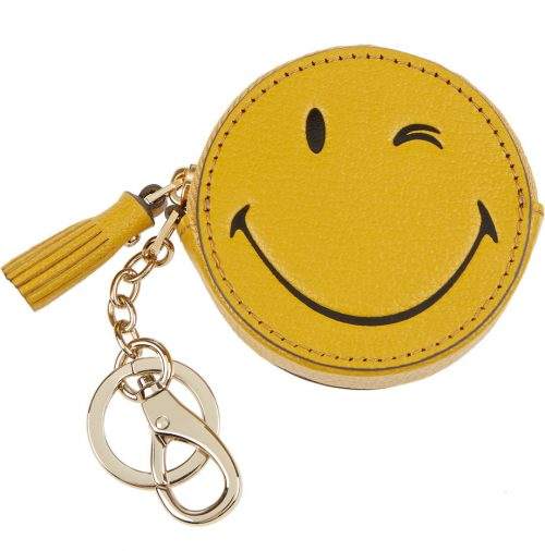 anya-hindmarch-wink-leather-keychain