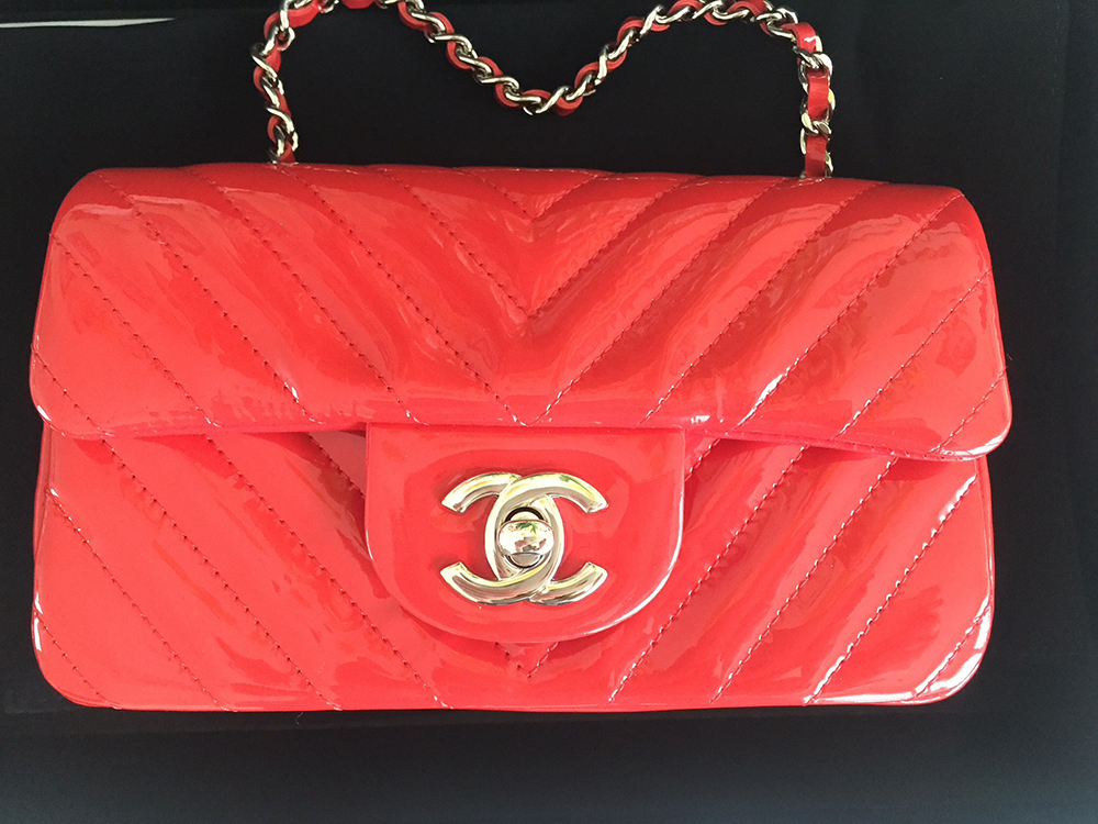 tPF Member: Artax  Bag: Chanel Chevron Extra-Mini Flap Bag