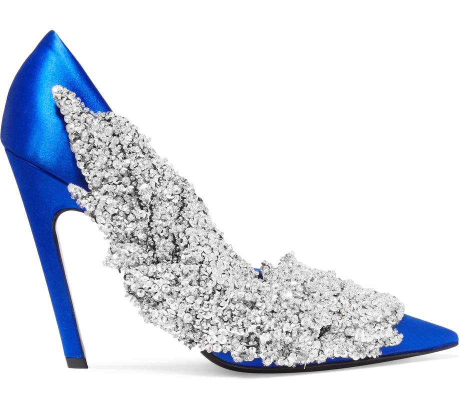 balenciaga-sequin-embellished-satin-pumps