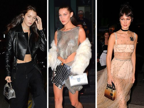 Bella Hadid is Living Up to Her Handbag-Carrying Duties as the Latest Face of Dior