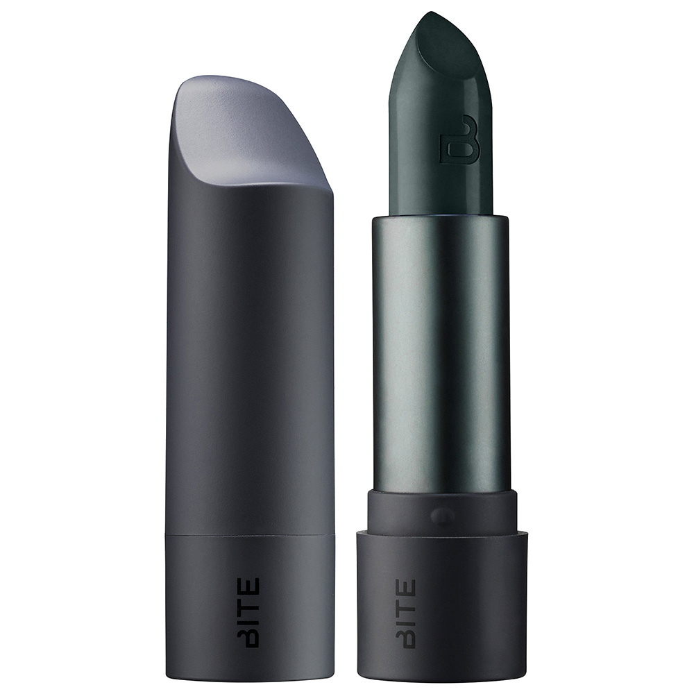 bite-beauty-kale-deep-hunter-green-with-black-lipstick