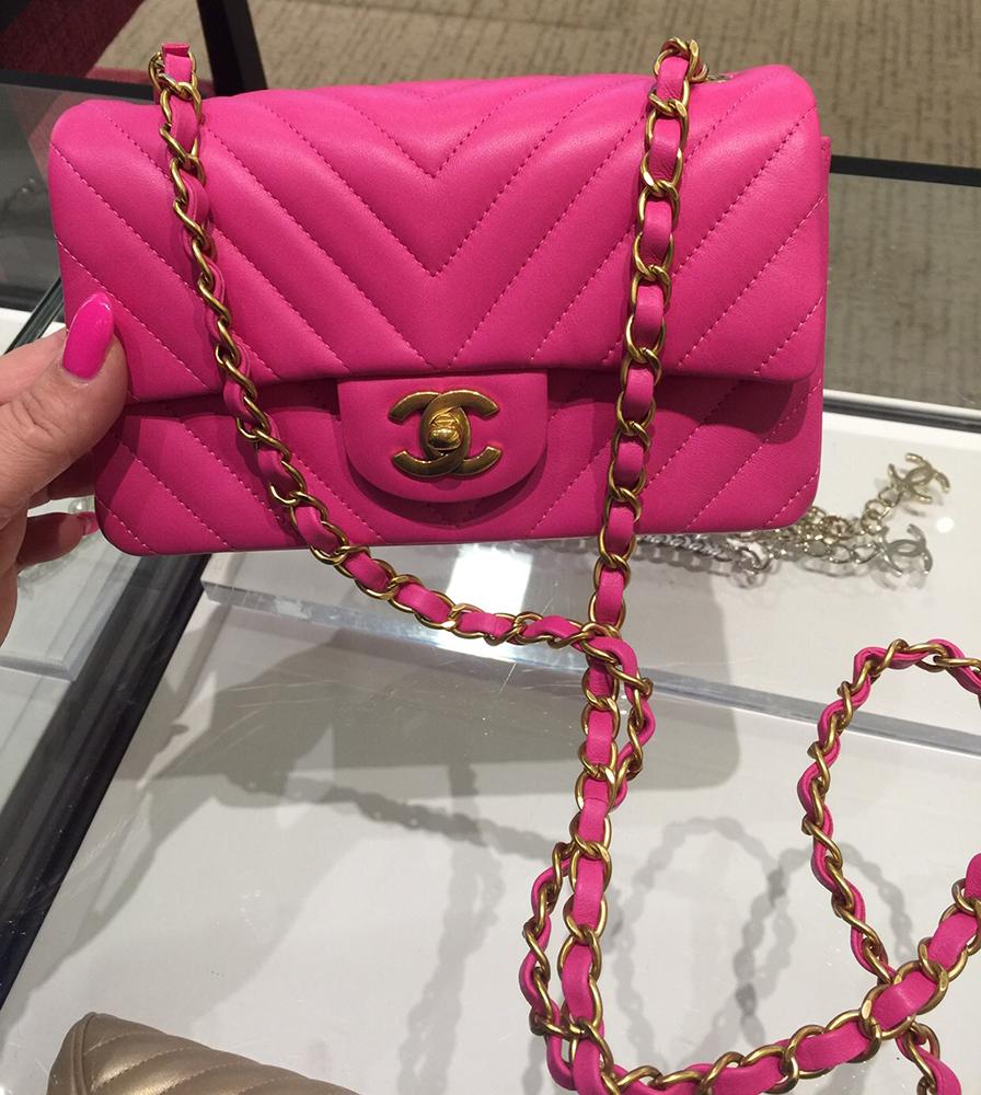 tPF Member: Calliandraroad Bag: Chanel Chevron Rectangular Mini Flap Bag