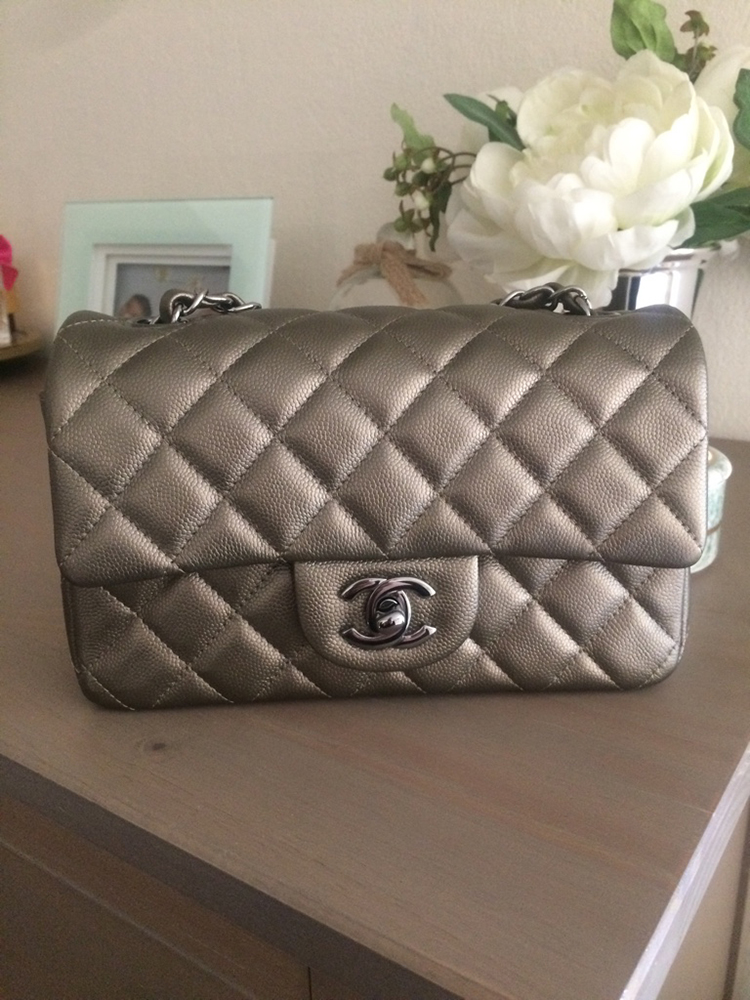 56e5a35e2445 tPF Member: Candyapples88 Bag: Chanel Rectangular Mini Flap Bag