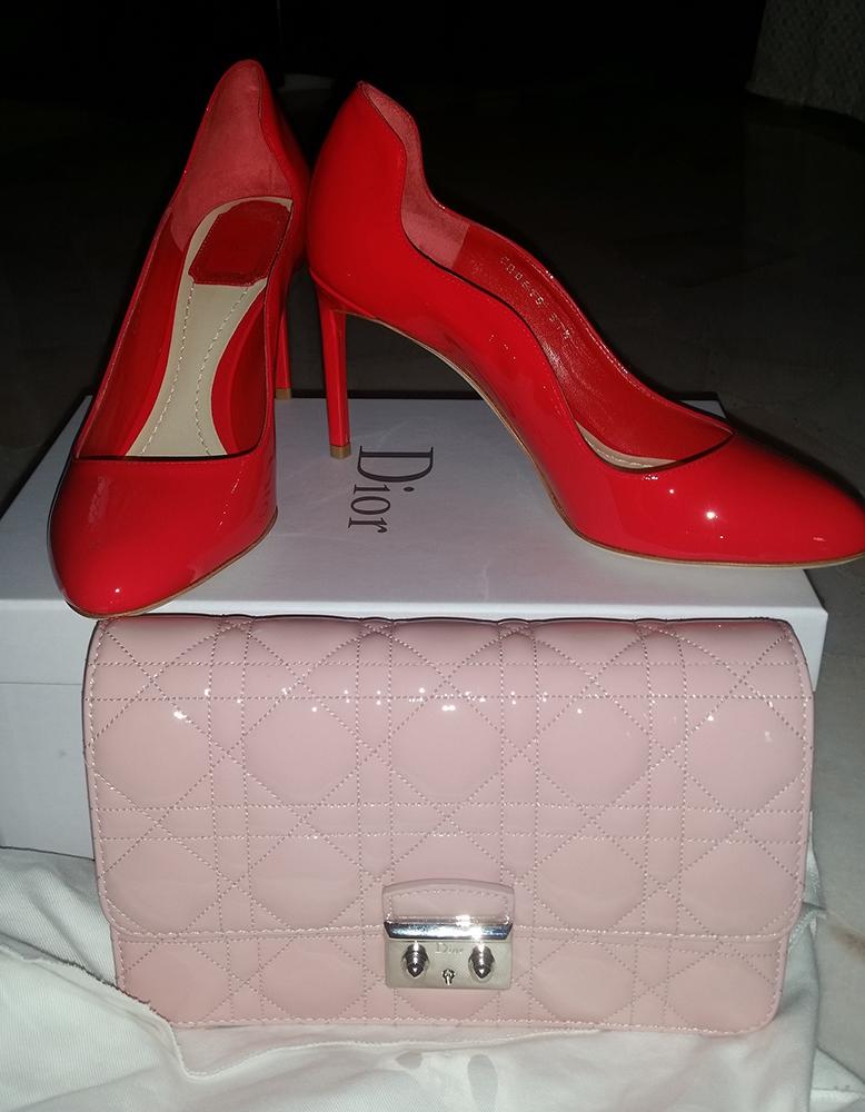 tPG Member: Cecilia446 Bag: Dior Miss Dior Promenade Pouch  Shoes: Dior Pumps