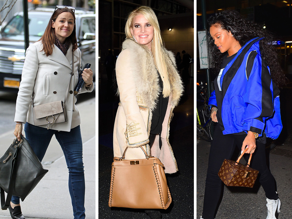 daf06d710587fe Celebs Carry Louis Vuitton, Fendi and Chanel to See Leo DiCaprio, Derek  Jeter and JFK (the Airport)
