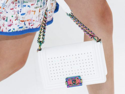 Chanel Contemplates the Digital Future with Bags You Know and Love for Spring 2017