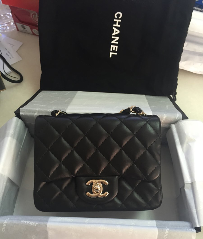 tPF Member: Disney89 Bag: Chanel Square Mini Flap Bag