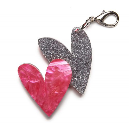 edie-parker-double-heart-bag-charm