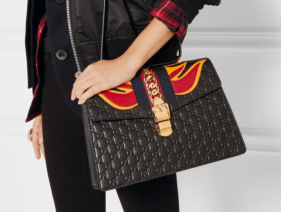 Gucci Sylvie Flame Bag