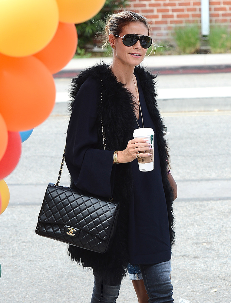 heidi-klum-chanel-classic-flap-bag
