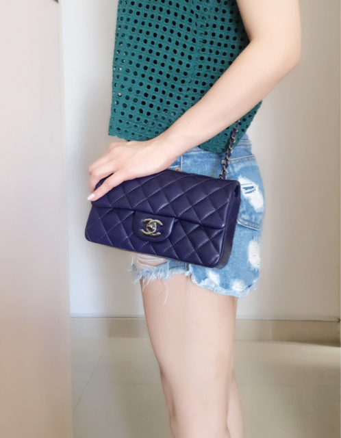 tPF Member: Jasrene10 Bag: Chanel Rectangular Mini Flap Bag