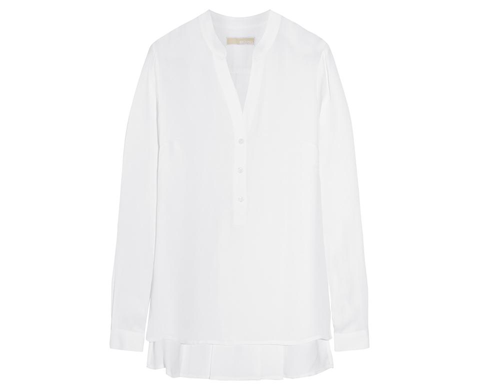 michael-michael-kors-pleated-silk-crepe-de-chine-blouse