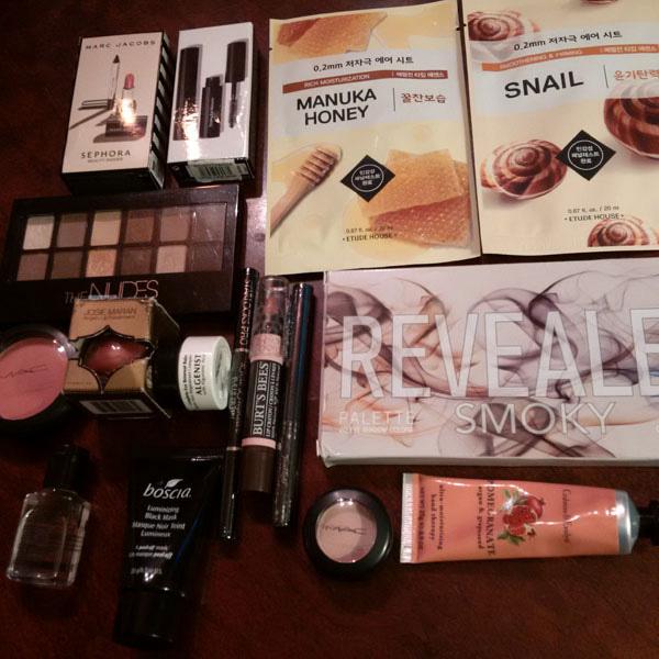 makeup-haul