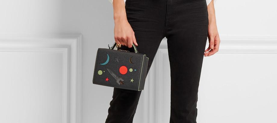 Mark Cross Space Grace Box Bag