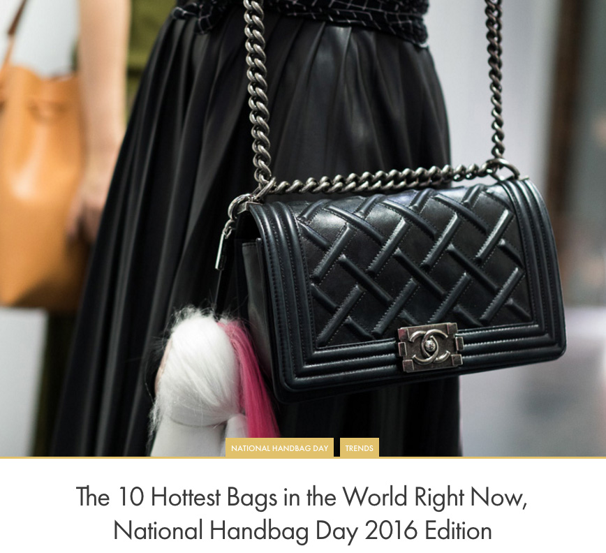 1bc01ee38cb965 The 10 Hottest Bags in the World Right Now, National Handbag Day 2016  Edition