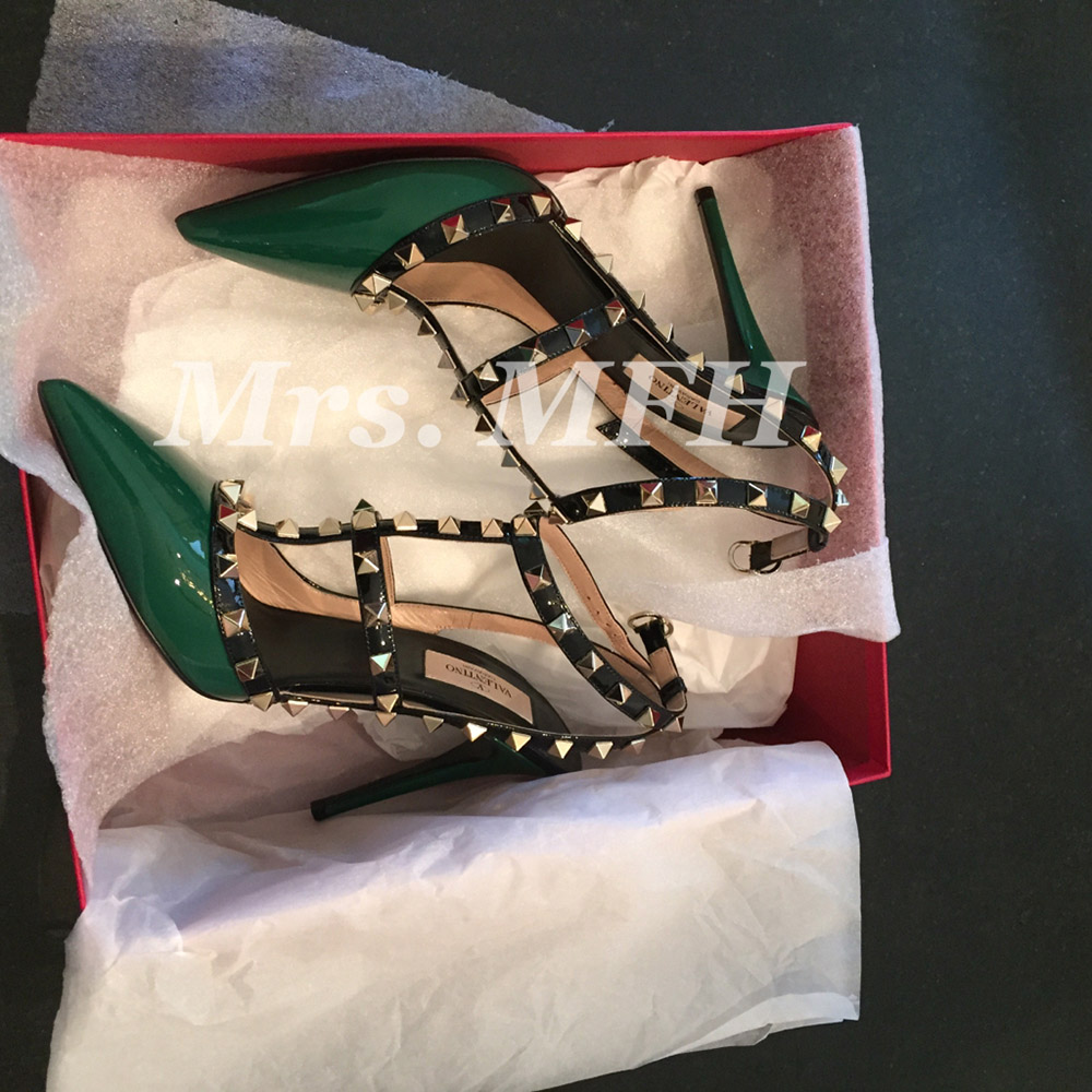 tPF Member: Mrs. Mfh  Shoes: Valentino Rockstud Pumps  Shop: Similar styles via Neiman Marcus