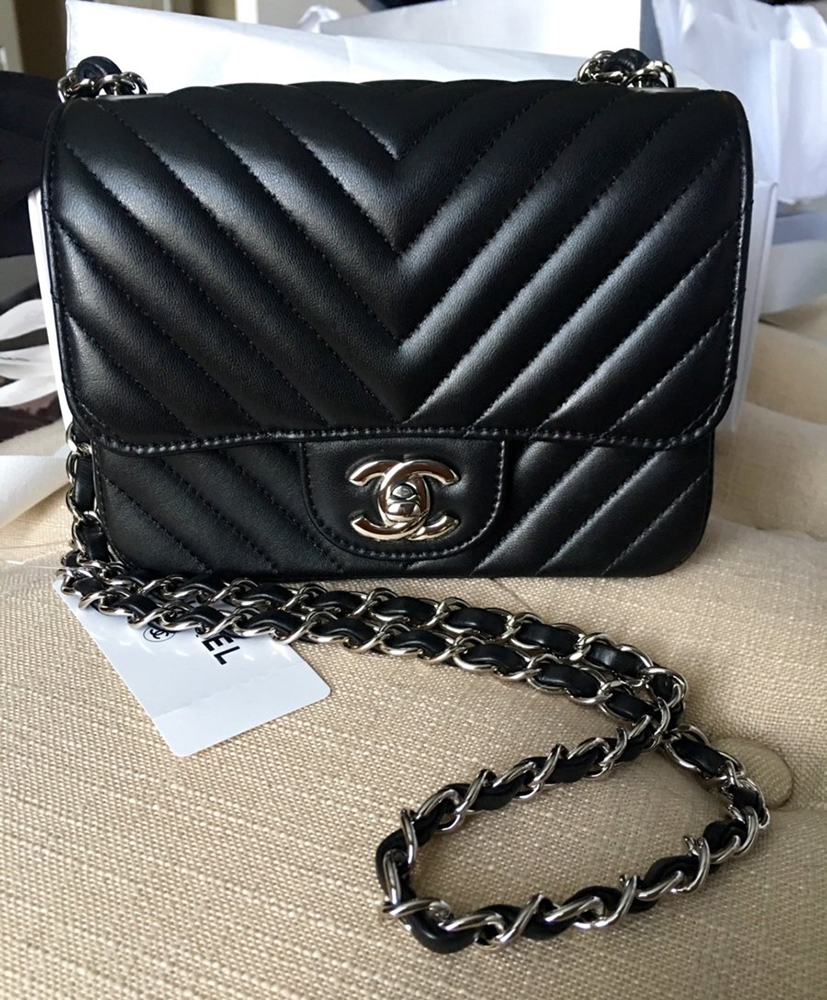 a72974eae147 tPF Member: MrsCamilla Bag: Chanel Square Mini Chevron Flap Bag