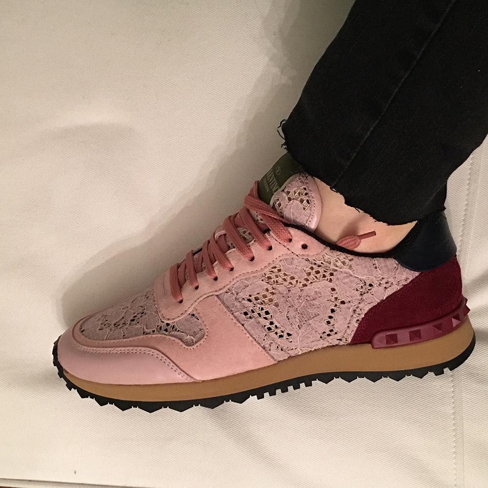 tPF Member: Oasisgirl Shoes: Valentino Rockstud Sneaker  Shop: $795 via SSENSE