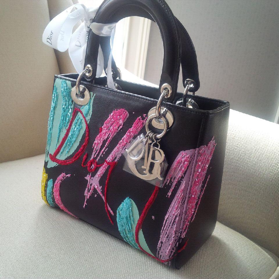 tPF Member: Panthere55 Bag: Dior Lady Dior Embellished Bag