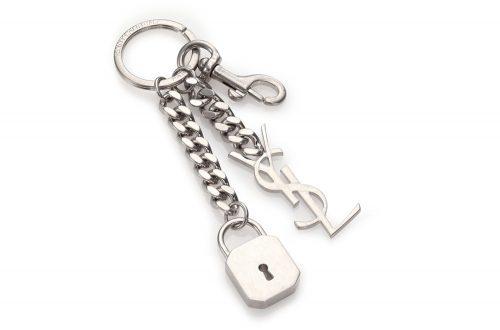 saint-laurent-saint-laurent-monogram-keychain