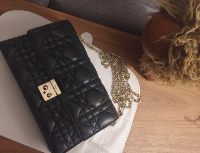 tPF Member: Sculli  Bag: Dior Miss Dior Wallet on Chain Pouch Bag