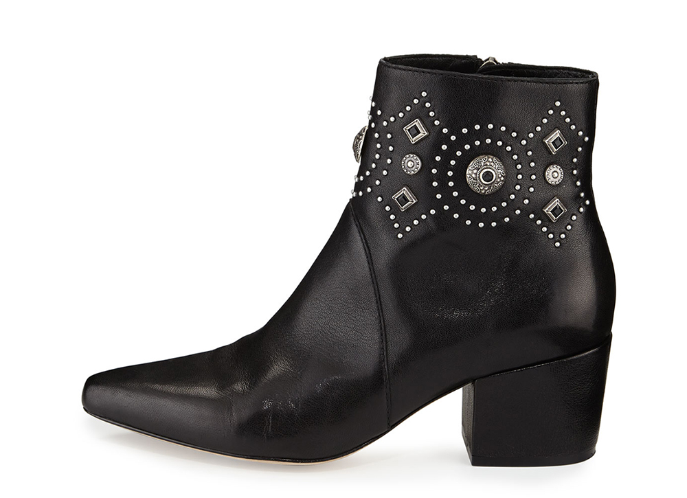 largest supplier online buy for sale Sigerson Morrison Studded Suede Booties geniue stockist online cheap huge surprise free shipping marketable mN0nP