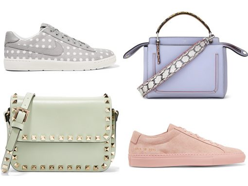 Get the Season's Comfiest Casual Look with 10 Super Cool Sneakers and Their Perfect Handbag Pairs