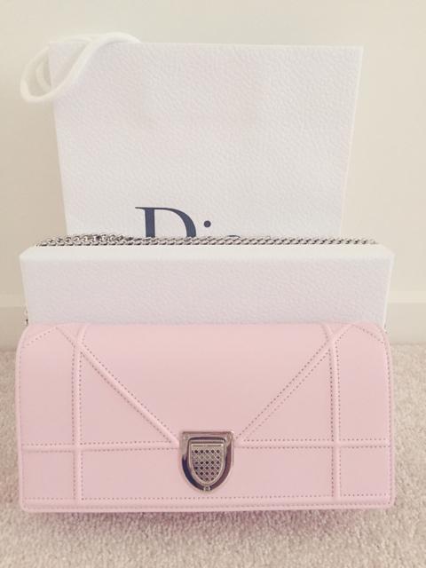 tPF Member: Stacie123456 Bag: Dior Diorama Wallet on Chain Bag