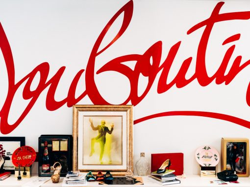 The Many Bags and Shoes of the Christian Louboutin NYC Team