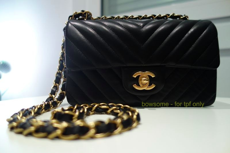 tPF Member: Tite Peluche Bag: Chanel  Chevron Rectangular Mini Flap Bag