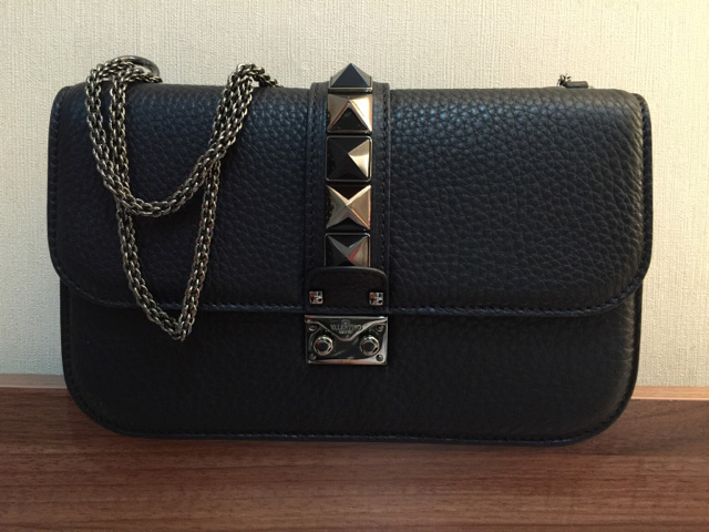valentino-lock-bag-black