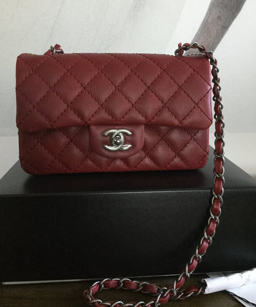 tPF Member: Foonyy  Bag: Chanel Rectangular Mini Flap Bag